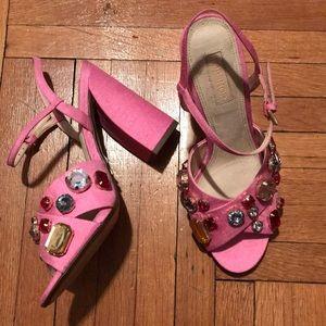 Topshop Shoes - Pink Gem Shoes